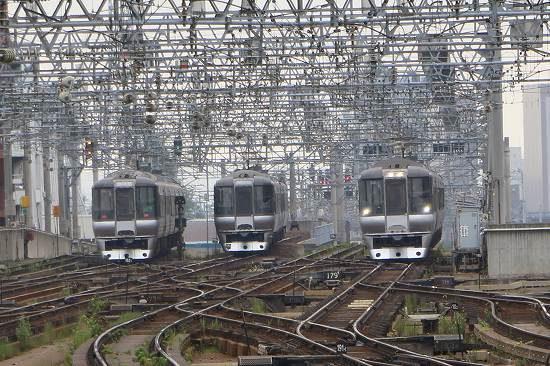 785系 3両そろい 札幌駅 すずらん スーパーカムイ