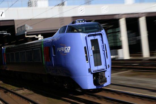 札幌駅 ズーム流し 列車 毎日 スーパーおおぞら