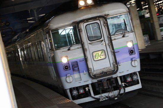 札幌駅 オホーツク 白ボウズ キハ183-104