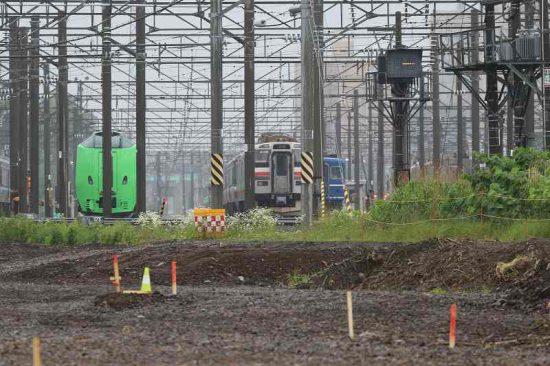 札幌運転所 留置線 789系 SE-106 SE-206