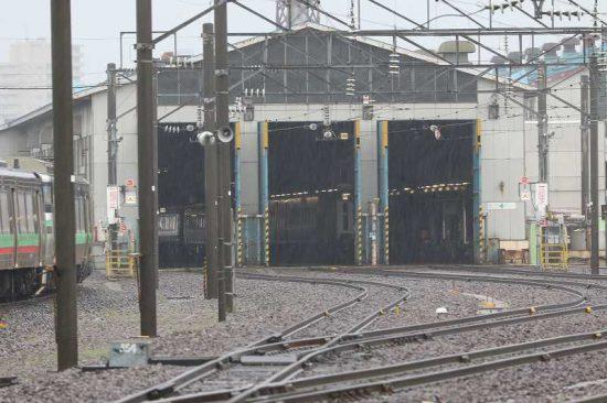 札幌運転所 車庫