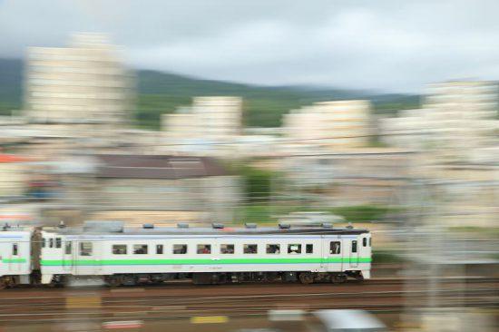 汽車 列車 流し撮り キハ40