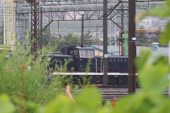 札幌運転所 DE101692 黒機関車
