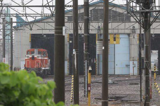 札幌運転所 左側車庫