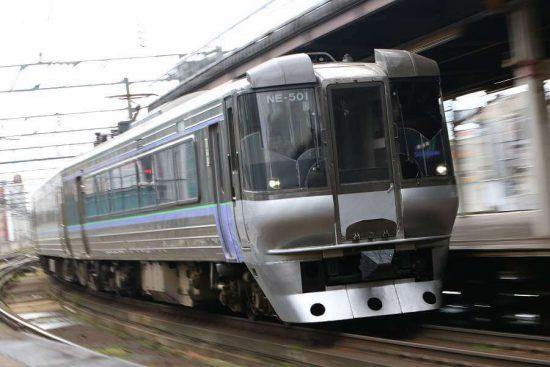 785系 NE-501 すずらん1号 札幌駅