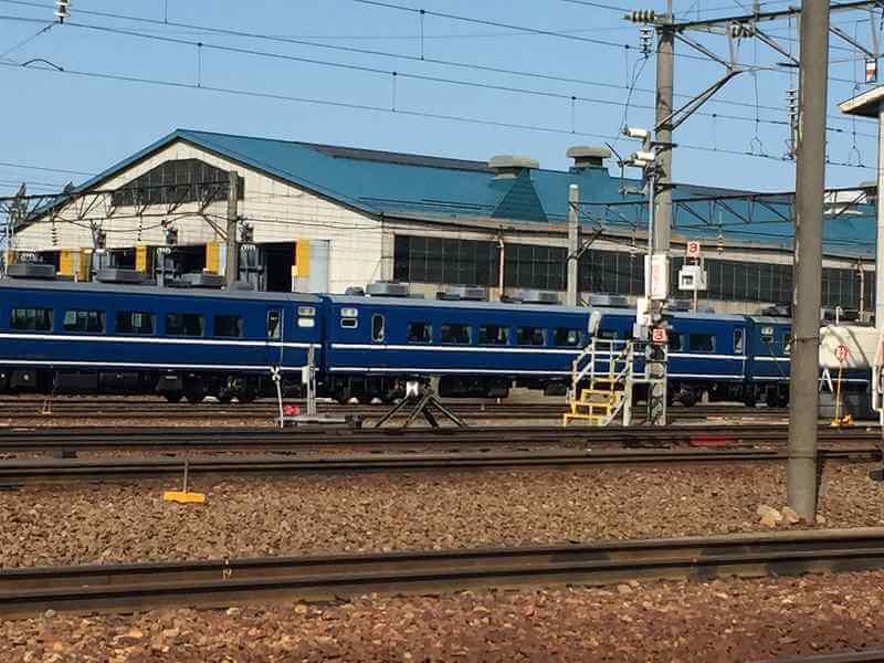 札幌運転所 14系客車 スハフ14508