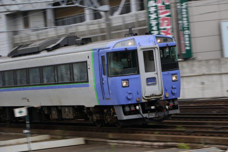 北斗8号 札幌駅 回送入線