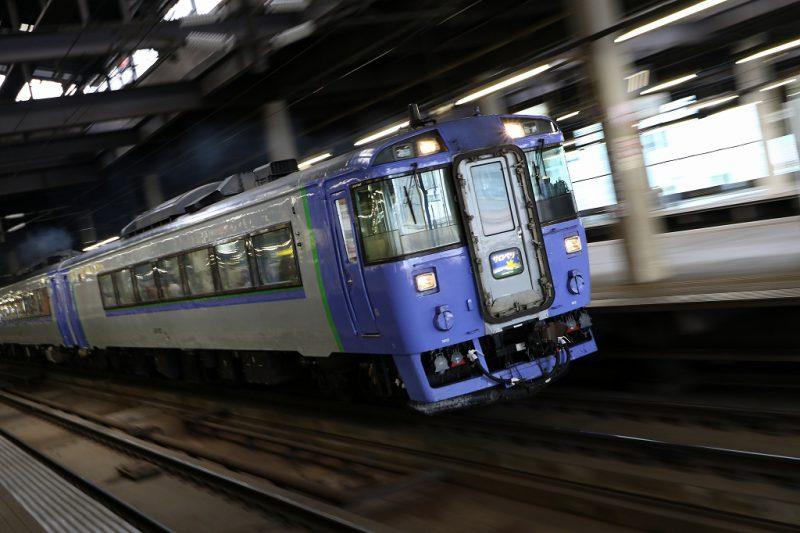 特急サロベツ 札幌駅