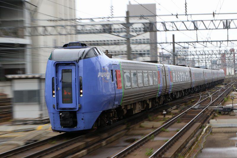 スーパーおおぞら 札幌駅 到着
