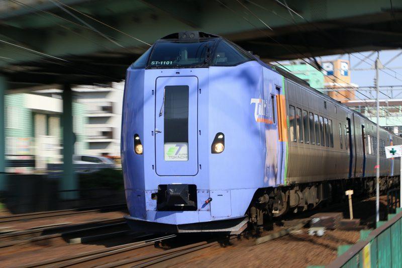 ズーム流し 列車 鉄道 キハ261系1000番代