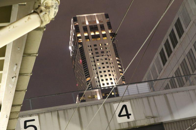 JRタワー 札幌駅から 夜 夜景