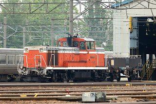14系の客車が留置線へ移動されていた札幌運転所