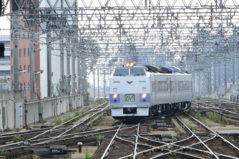 キハ183系 特急オホーツク 札幌駅
