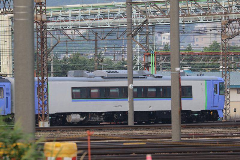 キハ183-6001 札幌運転所 元お座敷列車