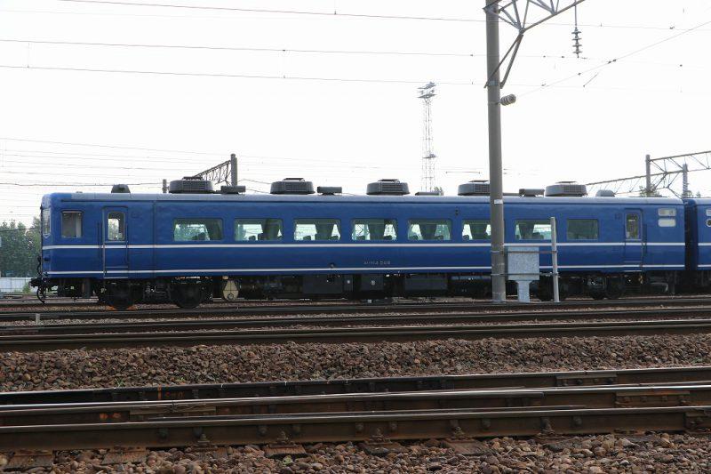 スハフ14508 札幌運転所 14系客車