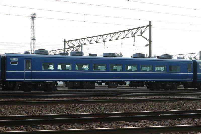 オハ14504 札幌運転所 14系客車