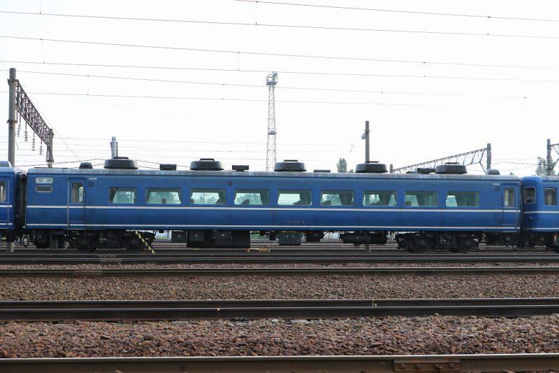 オハ14505 札幌運転所 14系客車