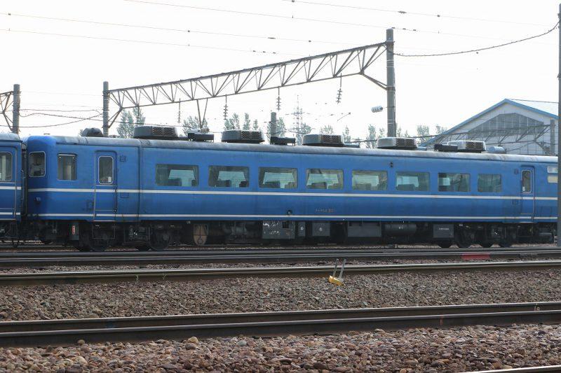 スハフ14501札幌運転所 14系客車
