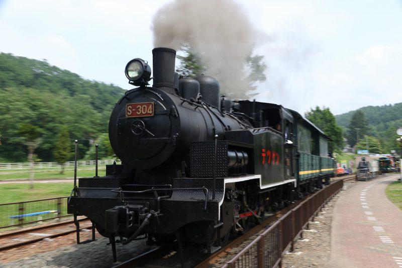 ズーミング流し SL 三笠鉄道博物館 S-304