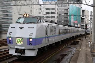 動画:朝と昼の札幌駅 4Dから特急サロベツ・試1191