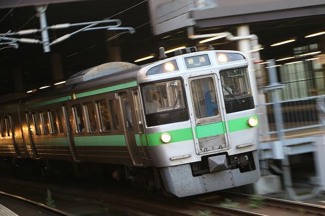 JR北海道 札幌駅 721系 F-4