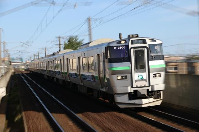 733系 B-3106 ラッピング列車