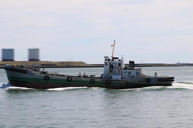 苫小牧 ふぃリーターミナル 船流し撮り 船