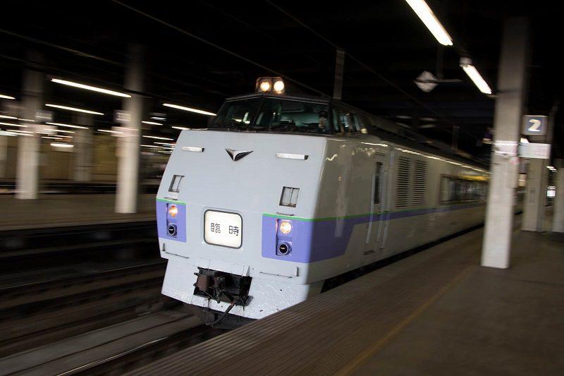 特急ニセコ号代走 スラントノーズ キハ183系