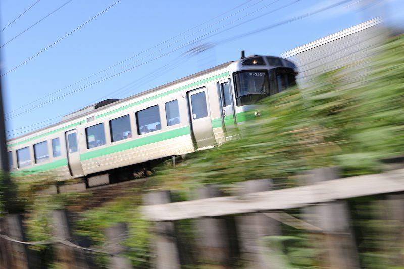 721系 小樽行き 普通列車