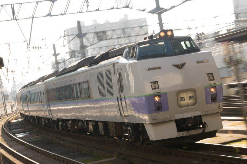 キハ183系 旭川行き臨時特急 札幌駅