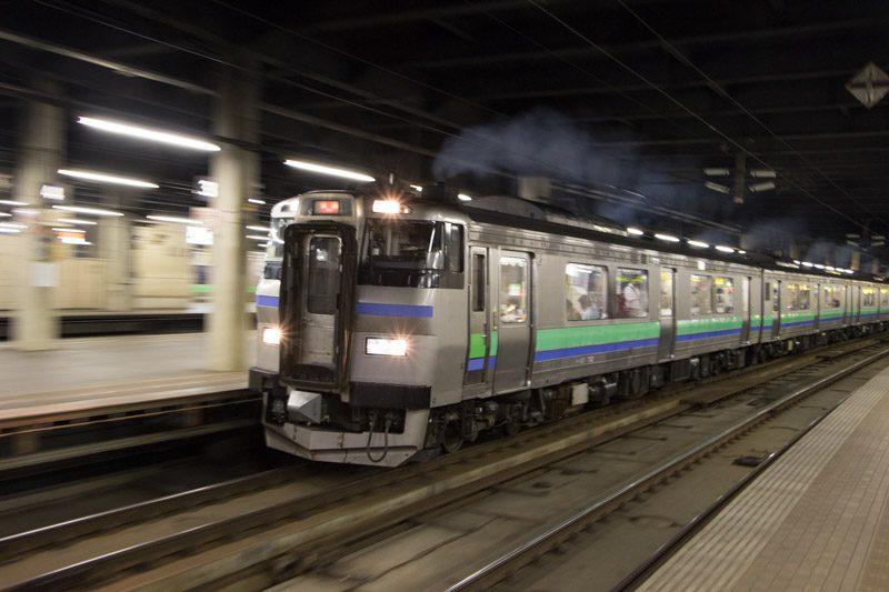 キハ201系 いしかりライナー 汽車
