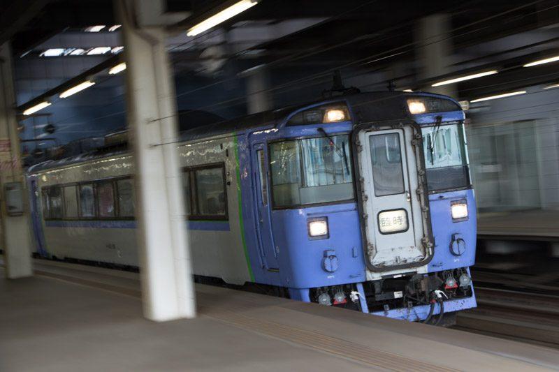 旭川行き臨時特急 キハ183-1551 札幌駅