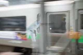 あさひかわゆき臨時特急の札幌駅入線を撮り損ねた朝の時間-暮れるのが早い