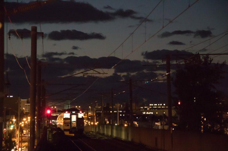 稲積公園駅 夜間撮影