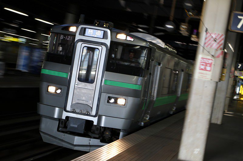 733系 札幌駅