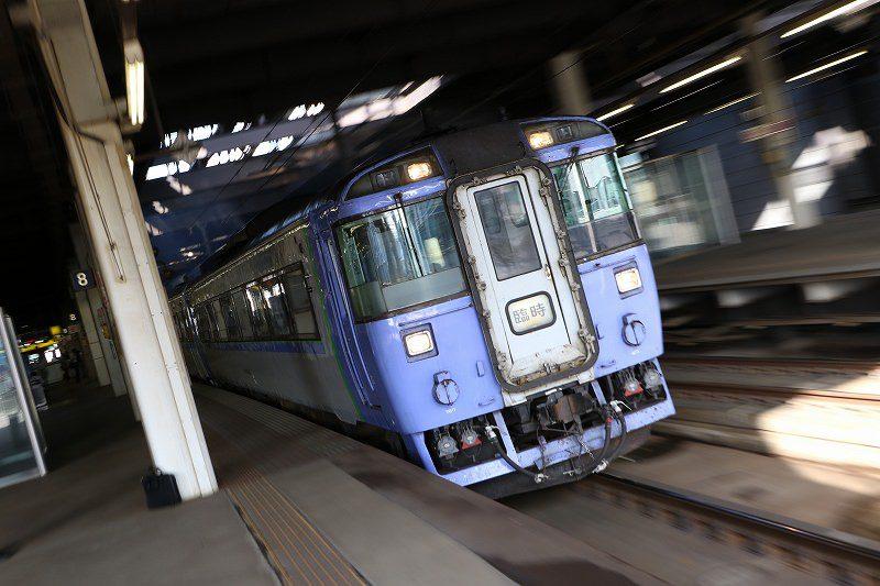 旭川行き臨時特急 キハ183系 札幌駅出発