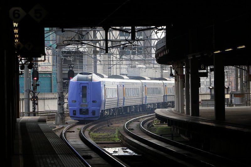 キハ261系100番代 スーパー宗谷 出発