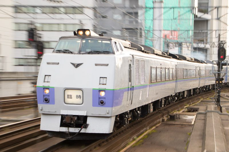 キハ183系 旭川行き臨時特急