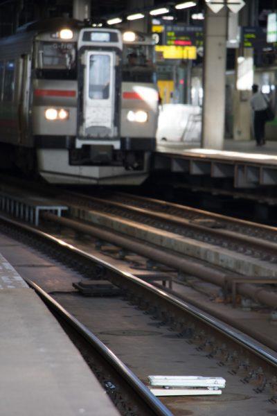 札幌駅 新しい部品設置
