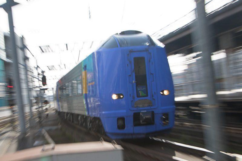 幌延行き 臨時特急 キハ261系 100番代 スーパー宗谷 入線