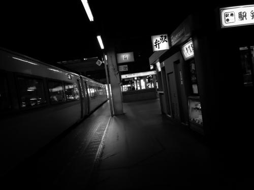 札幌駅 モノクロ 駅弁