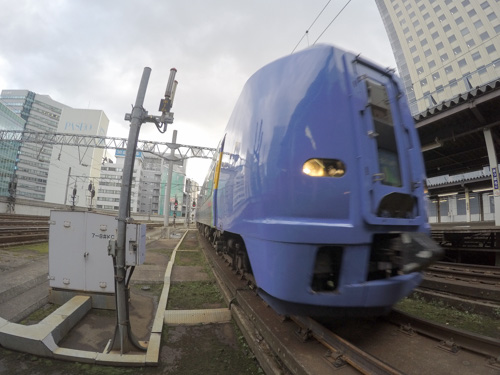 Gopro ゴープロ マルチショット 列車