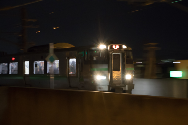 手稲行き普通列車 733系 B-107