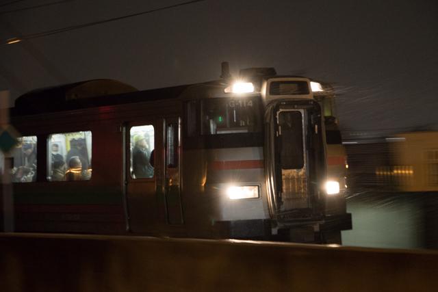手稲行き普通列車 731系