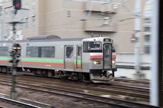 気になる学園都市線-不具合車両と予想の答え合わせ-札幌駅はいつも通り