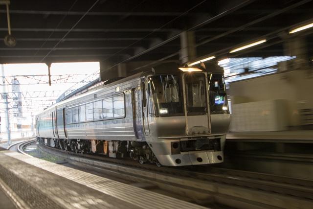 すずらん2号 札幌駅到着