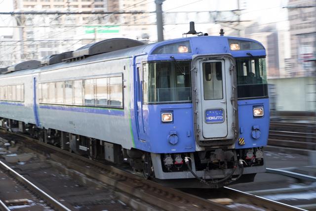 キハ183系 北斗 回送入線