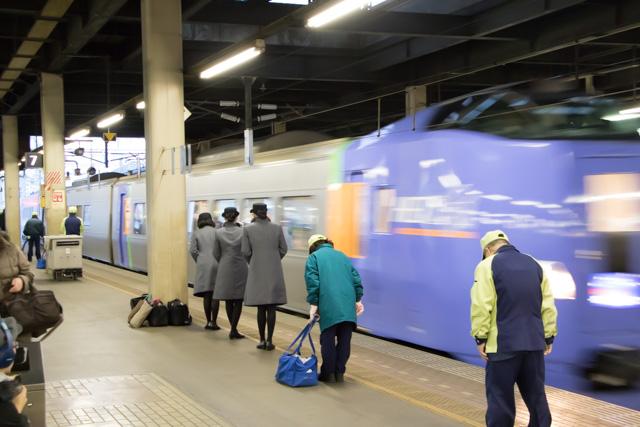 キハ261系 スーパー北斗 札幌駅入線