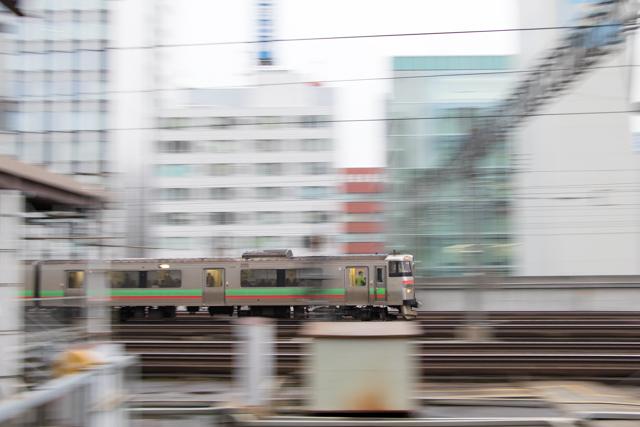 流し撮り 電車 731系G-111