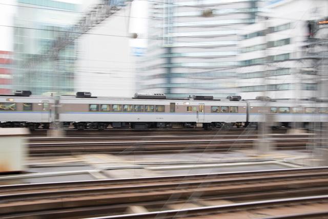 流し撮り 電車 列車 札幌駅